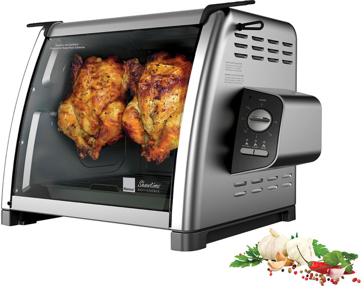 Ronco 5500 Series Stainless Steel Rotisserie