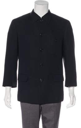 Issey Miyake Deconstructed Wool Sport Coat
