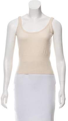 Brunello Cucinelli Sleeveless Cashmere Top