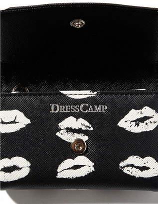 Dresscamp (ドレスキャンプ) - DRESSCAMP DRESSCAMP/モノトーンリップ柄キーケース/キーホルダー シフォン 財布/小物