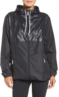 Women's Columbia Flashback Long Windbreaker Jacket $75 thestylecure.com