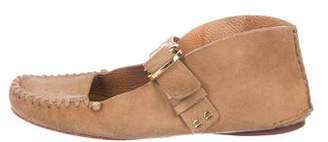Tory Burch Suede Sandals