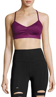 Alo Yoga Sunny Strappy Sports Bra $54 thestylecure.com