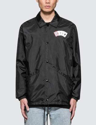 Have A Good Time Playing Card Coach Jacket