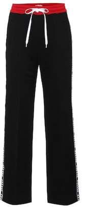 Miu Miu Cotton-blend trackpants