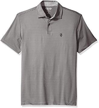 Izod Men's Performance Golf Greenie Stripe Polo
