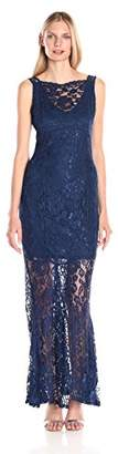 Marina Women's Lace Gown $22.39 thestylecure.com