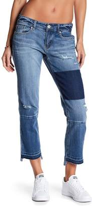 UNIONBAY Presley Distressed Straight Leg Jeans (Juniors)