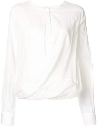 Hache gathered shirt