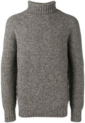Drumohr knitted roll-neck jumper