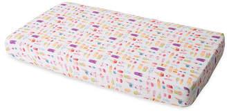 Little Unicorn Brain Freeze Cotton Muslin Crib Sheet