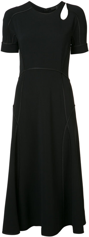 Alexander Wang Alexander Wang raised seam A-line dress