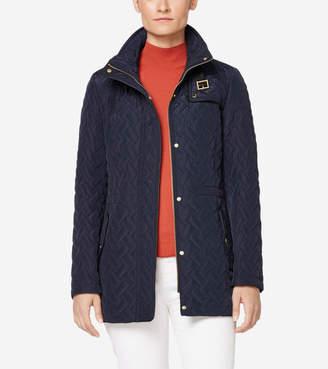 Cole Haan Quilted Short Jacket