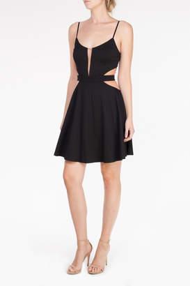 Mystic Mesh Cutout Dress