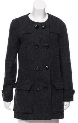 Etoile Isabel Marant Bouclé Wool-Blend Coat