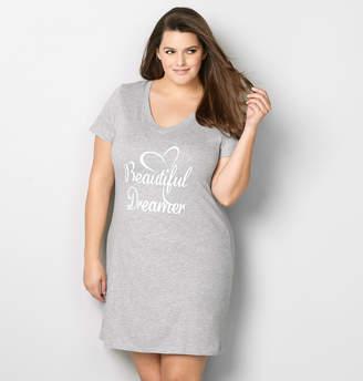 Avenue Plus Size Beautiful Dreamer Sleep Shirt