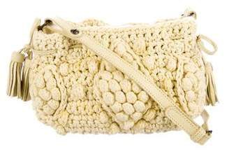 Gerard Darel Crochet Crossbody Bag