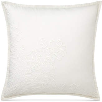 "Lauren Ralph Lauren Yasmine Embellished Floral 20"" Square Decorative Pillow Bedding"