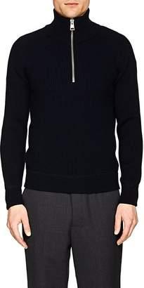 Ami Alexandre Mattiussi Men's Rib-Knit Wool Sweater