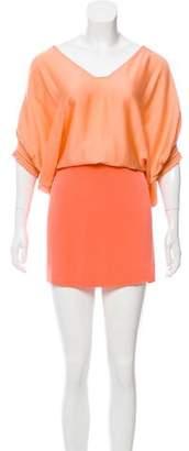 Diane von Furstenberg Short Sleeve Knee-Length Dress