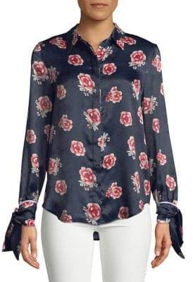 The Fifth Label Floral Button-Down Shirt