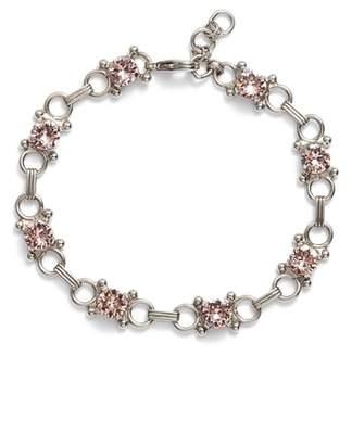 Sorrelli Mini Eyelet Line Crystal Bracelet