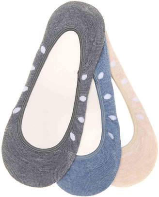 Keds Dots No Show Liners - 3 Pack - Women's