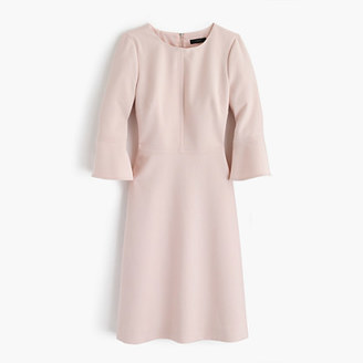 Bell-sleeve crepe dress $128 thestylecure.com