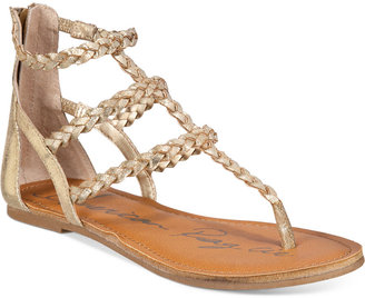 American Rag Madora Braided Gladiator Flat Sandals, Only At Macy's Women's Shoes $49.50 thestylecure.com