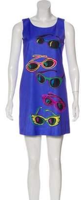 Jeremy Scott Printed Mini Dress multicolor Printed Mini Dress