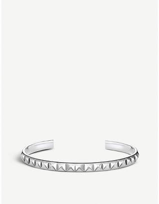 Thomas Sabo Pyramid studded sterling silver bangle