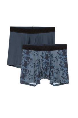 H&M 2-pack Sports Boxer Shorts - Dark blue - Men