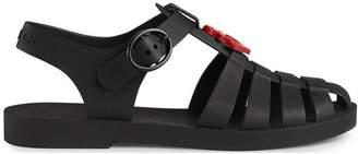 Gucci Kids Children's rubber sandal