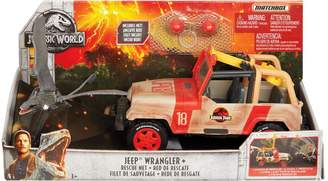 Wrangler Jurassic World Jeep& and Rescue Net