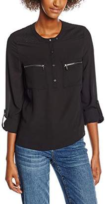 Morgan Women's Omily Normal Waist Long Sleeve Shirt,(Manufacturer Size: 38)