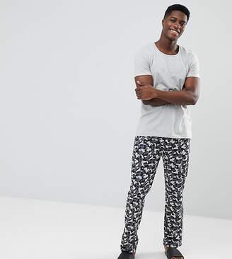 Esprit Pajama Set With Camo Jersey Pant