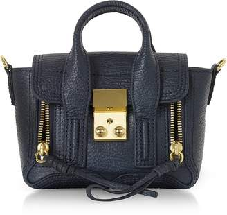 3.1 Phillip Lim Ink Leather Pashli Nano Satchel Bag