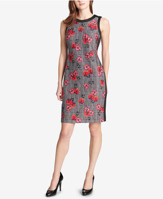Tommy Hilfiger Floral-Print Sheath Dress