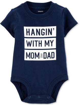 Carter's Baby Boys Hanging Graphic Bodysuit
