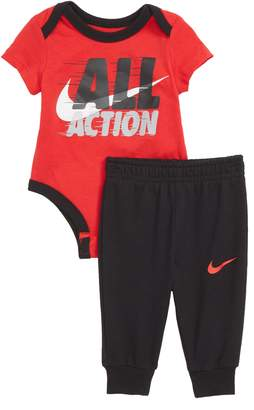 Nike All Action Bodysuit & Sweatpants Set