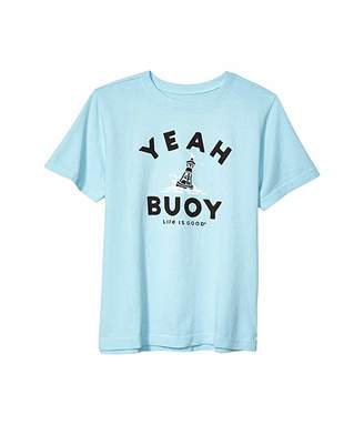 Life is Good Yeah Buoy Crusher Knit Tee (Little Kids/Big Kids)