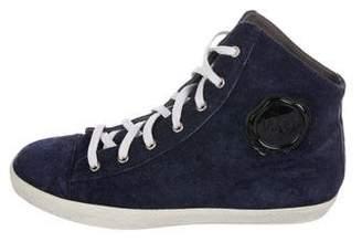Viktor & Rolf Suede High-Top Sneakers