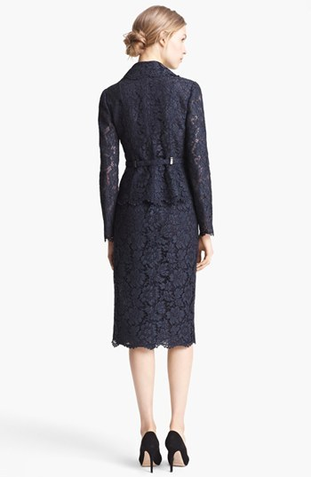 Valentino Belted Lace Jacket