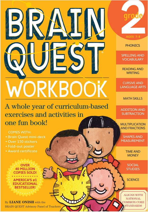Workman Publishing Brain Quest Workbook: Grade 2