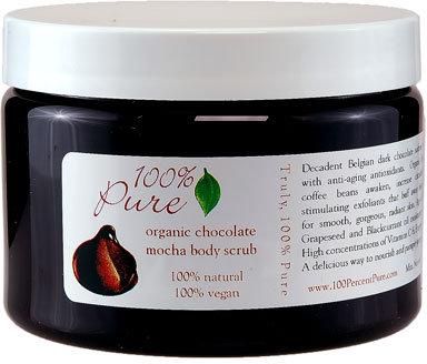 100 Percent Pure Chocolate Mochabody Scrub