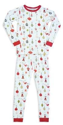 BedHead Unisex Deck the Halls Pajama Shirt & Pants Set - Big Kid