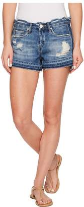 Blank NYC Denim Distressed Cut Off Shorts in Hot Thoughts Women's Shorts