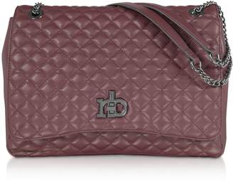 Roccobarocco Rb Small Releve Quilted Eco Leather Shoulder Bag