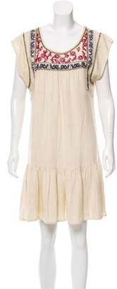 Rebecca Minkoff Silk Embroidered Dress