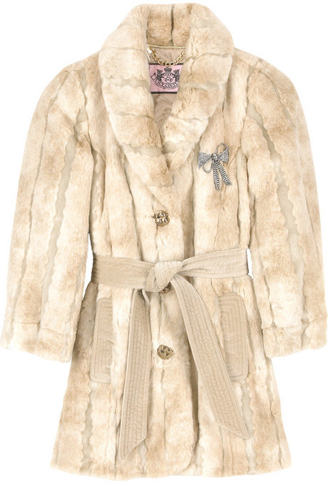 Juicy Couture Faux fur coat